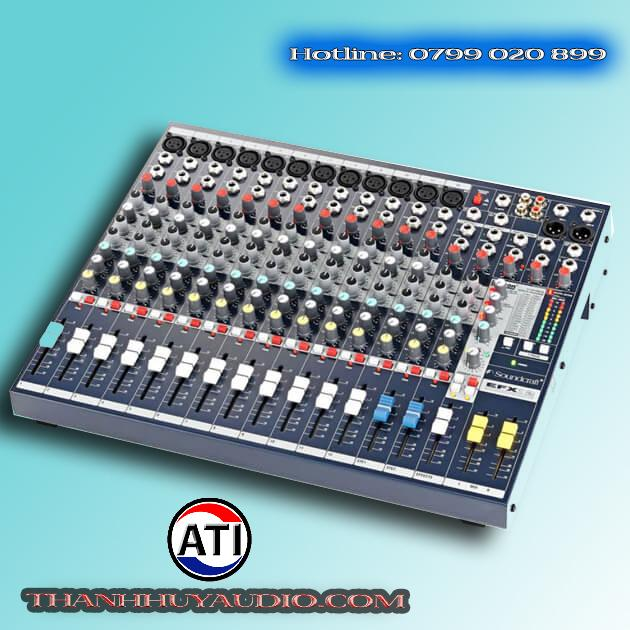 mixer soundcraft EFX-12