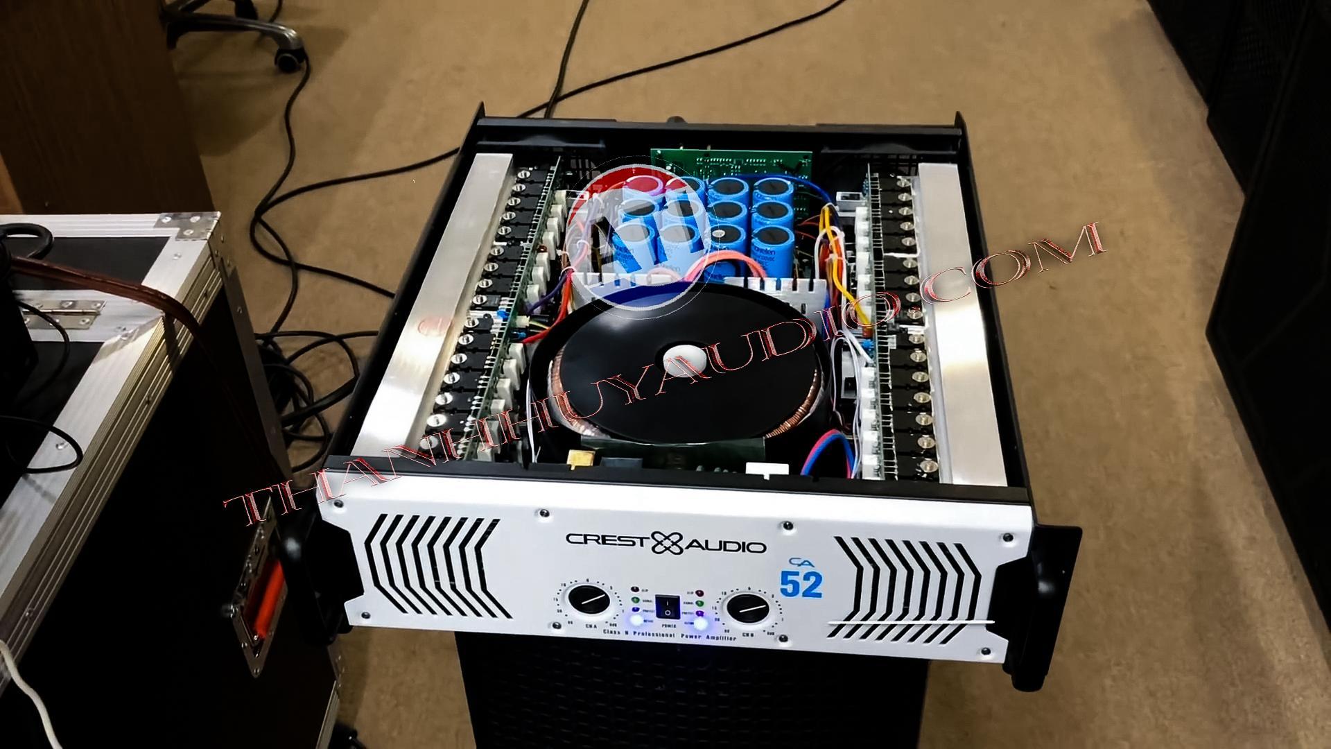 Cục đẩy Crest Audio CA52