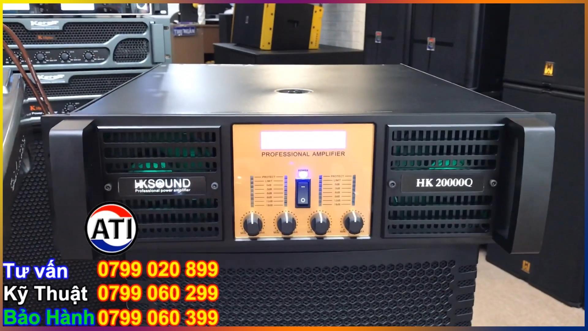 Cục đẩy HKSound HK 20000Q